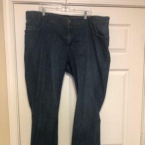 Plus size Lee Women's mid rise boot cut jeans